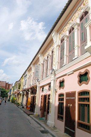 อาคารเก่าในซอยรมณีย์ ถนนถลาง
