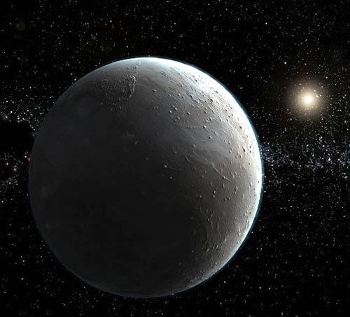 ภาพจำลองดาว Planet X