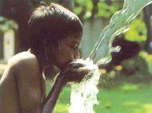 ดื่มน้ำเพื่อสุขภาพ