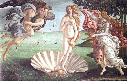 เทพีอโฟรไดท์ (Aphrodite) หรือ วีนัส (Venus)