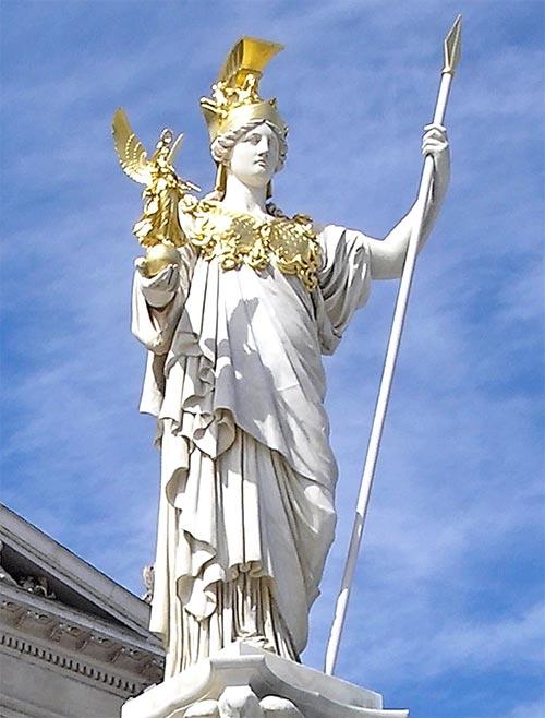 อาเธน่า (Athena) เทพีแห่งปัญญา สงคราม และงานหัตถกรรม