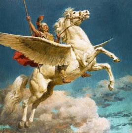 เบลเลอโรฟอน กับ ม้าเปกาซัส