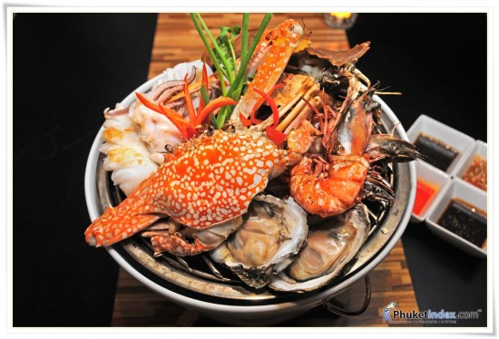 Seafood basket at Angsana