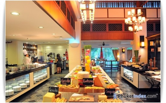 Buffet Dinner at JW Marriott Phuket Resort & Spa