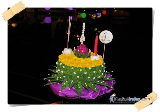Loy Kratong at Andara