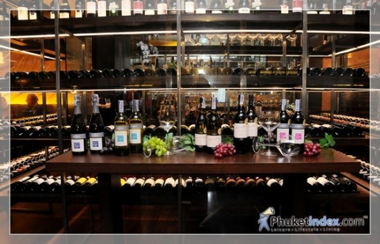 Wine dinner at Sam's Steaks & Grill Holiday InnPatong