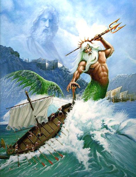 โพไซดอน เทพเจ้าแห่งท้องทะเล